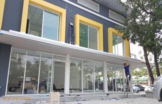 ตึกใหม่ให้เช่า 2 ชั้น พื้นที่ 246 ตรมออกแบบทันสมัยสวยงาม (เจ้าของให้เช่าเอง)