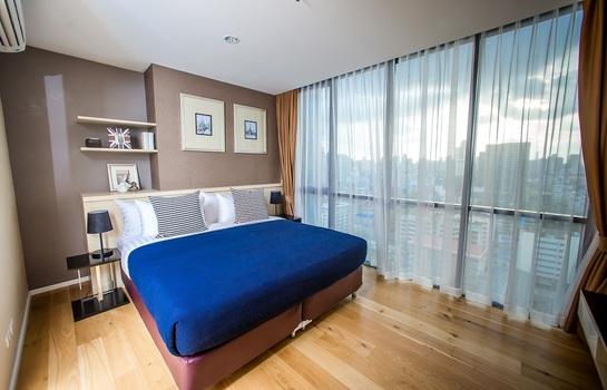โมเดิร์นอพาร์ทเม้นสวย ถนนเอกมัย สุขุมวิท 63  เช่า 50,000 บาท/เดือน Modern high rise apartment in Ekamai, Sukhumvut 63 Rent 50,000 /month