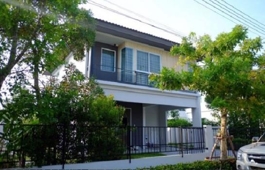บ้านเดี่ยวให้เช่าบ้านเดี่ยว หมู่บ้าน อินนิซิโอ รังสิต คลองสาม Inizio ของ L&H บ้านสวย หลังใหญ่ เฟอร์ครบ เช่า 25000 บาท โทร-063-146-4140
