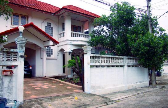 ขายบ้านเดี่ยว หมู่บ้าน สุภาวัลย์ เทพารักษ์ กม.6 ห้องมุม 107 ตรว.