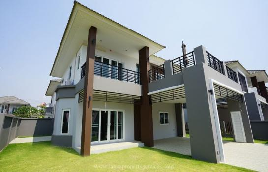 Brand new fully furnished house in community of Nong kwai Hang dong chiangmai.