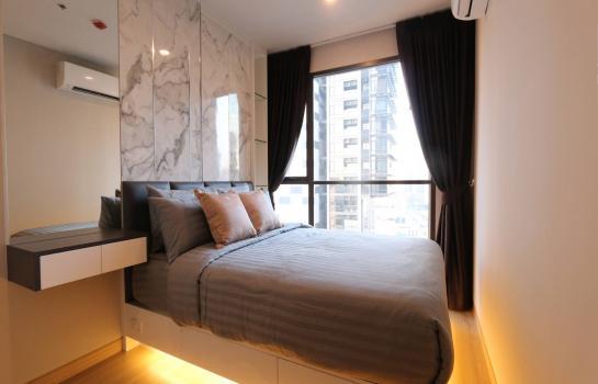 Condo for Rent Lumpini Suite Phetchaburi-Makkasan, 1 Bed 1 Bath 28 SQ.M. 21F. Pool View