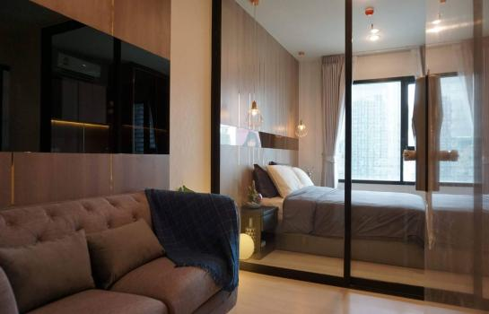 "For Rent ""Life asoke"" 1bed 1bath 29.77sqm. 16th floor ใกล้ MRT เพชรบุรี"