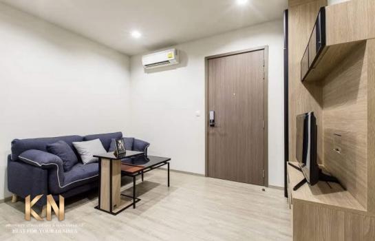 The line วงศ์สว่าง เช่า 1 ห้องนอน 1 ห้องน้ำ ขนาด 32 ตารางเมตร ชั้น 34 ห้องใหม่ สวย พร้อมอยู่
