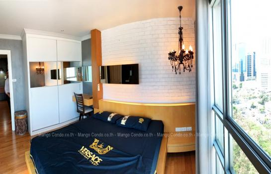 Nice and Cozy 2 Bedroom for rent 28000 baht size 70 sqm at Lumpini Place Rama9