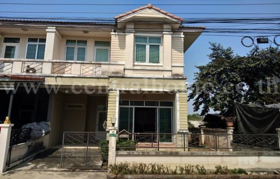 ขายทาวน์เฮ้าส์ ธัญบุรี2300000บาท ทาวน์เฮ้าส์ หมู่บ้านรื่นฤดี รังสิต   คลอง 4