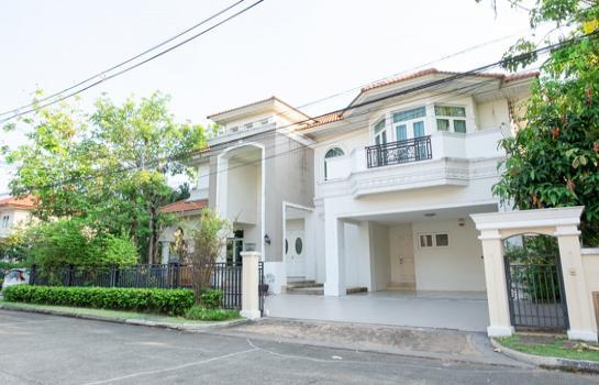 บ้านเดี่ยว The Grand Rama 2 ตกแต่งพร้อมอยู่ 4ห้องนอน 4ห้องน้ำ 107.5ตร.ว. แปลงหัวมุม