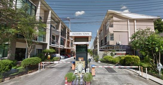 ให้เช่าโมเดิร์น ทาวน์ บางแค Modern Town Bangkhae
