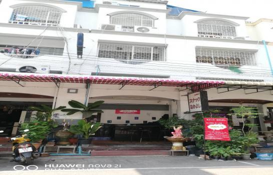 ขายอาคารพาณิชย์ 4 ชั้น ใจกลางเมืองศรีราชา  จังหวัดชลบุรี