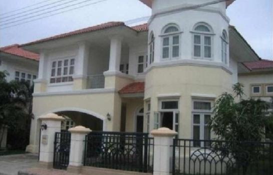 บ้านเดี่ยวให้เช่า  บ้านเดี่ยวภัสสร คลอง4 รังสิต-นครนายก พร้อมเช่าไม่แพง